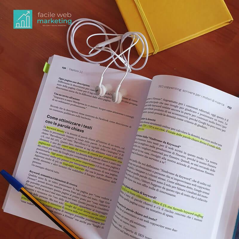 Manuale di Copywriting e Scrittura per il Web pagine interne Facile Web Marketing Nicola Onida
