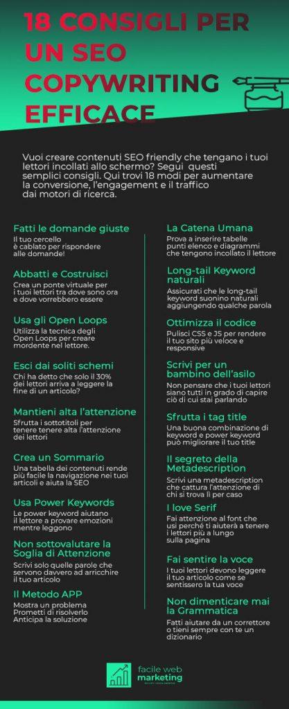SEO copywriting 18 consigli Facile Web Marketing Nicola Onida