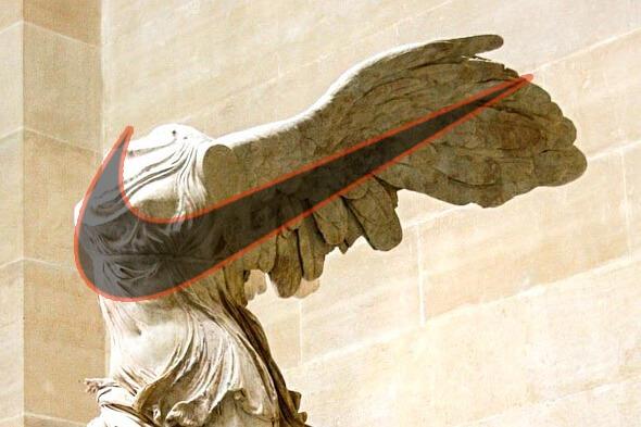 Brand e loghi Nike di Samotracia