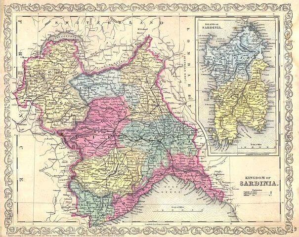 Copywriter in Sardegna il regno di sardegna in epoca sabauda