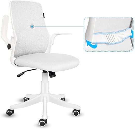 postazione pc smart working sedia ergonomica compatta