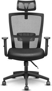postazione pc smart working sedia ergonomica standard Facile Web Marketing