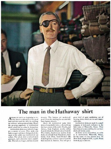 storia del copywriting the man in the hathaway shirt ogilvy facile web marketing