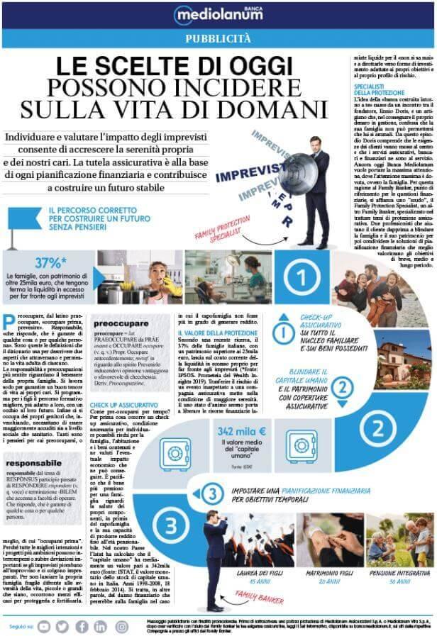 articolo pubbliredazionale esempio banca mediolanum Facile Web Marketing Nicola Onida SEO copywriter e digital marketing